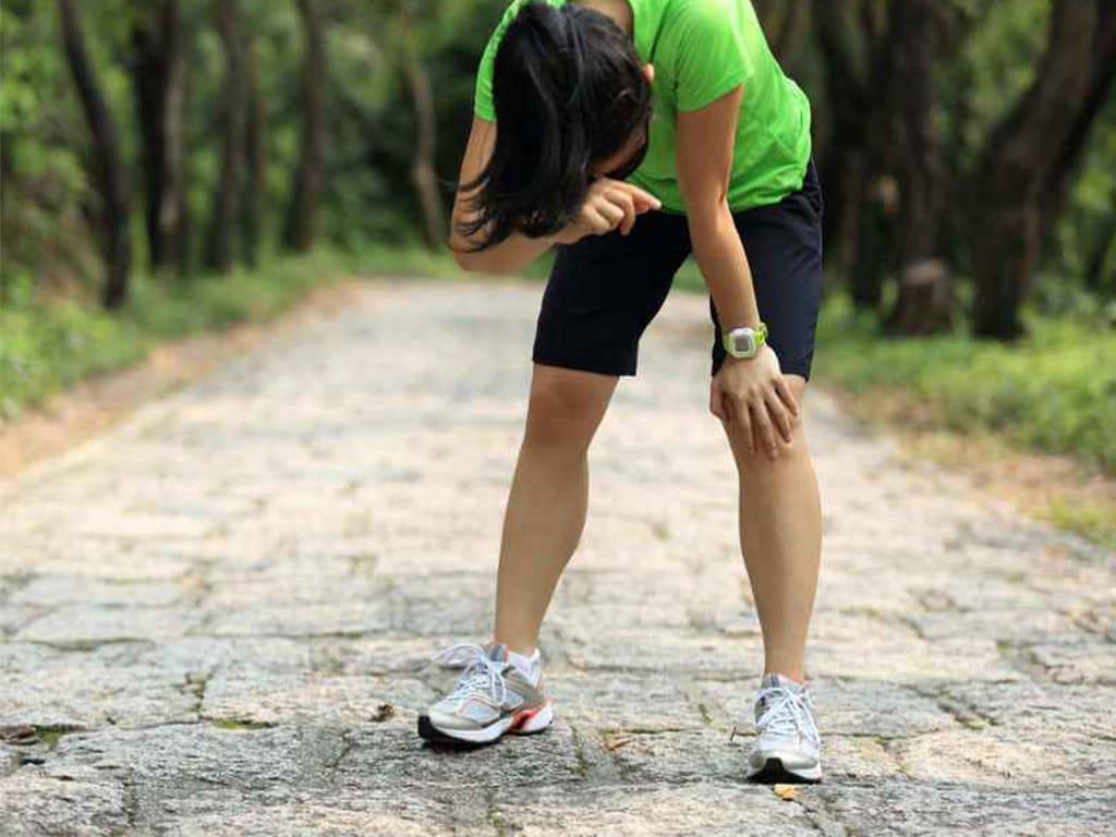 عرق کردن زیاد در زمان ورزش نشانه از دست دادن وزن نیست.
