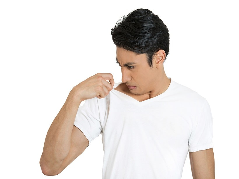 درمان بوی بد زیر بغل
