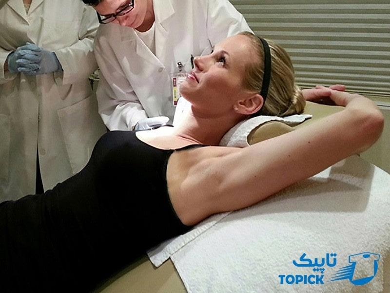 جراحی برای درمان عرق زیر بغل