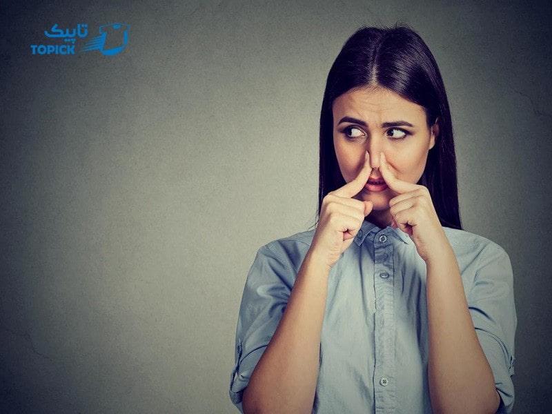 علت تغییر بوی عرق بدن