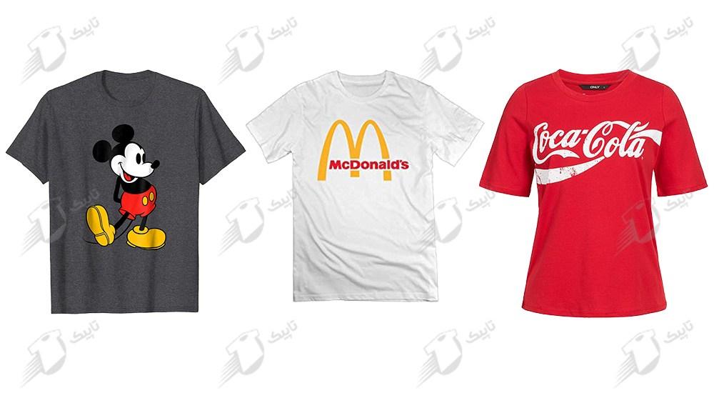 تیشرت تبلیغاتی - تاپیک