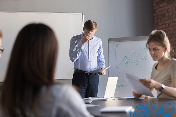 چرا عرق کردن میتواند به یک مشکل جدی در محل کار تبدیل شود؟ 1