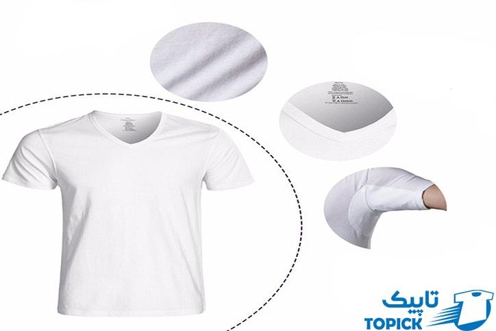 زیرپوش ضد عرق تاپیک مناسب برای پوشاندن عرق بدن