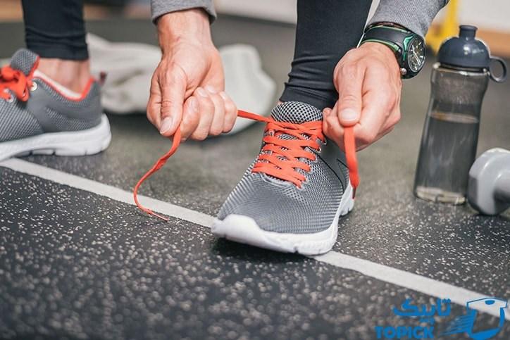 انتخاب کفش مناسب برای جلوگیری از تعریق ریاد