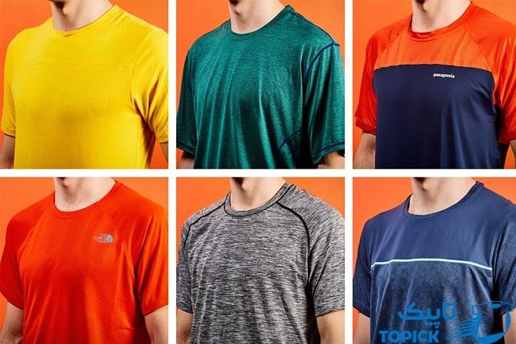 چه رنگ لباسی عرق را کمتر نشان میدهد؟ 1