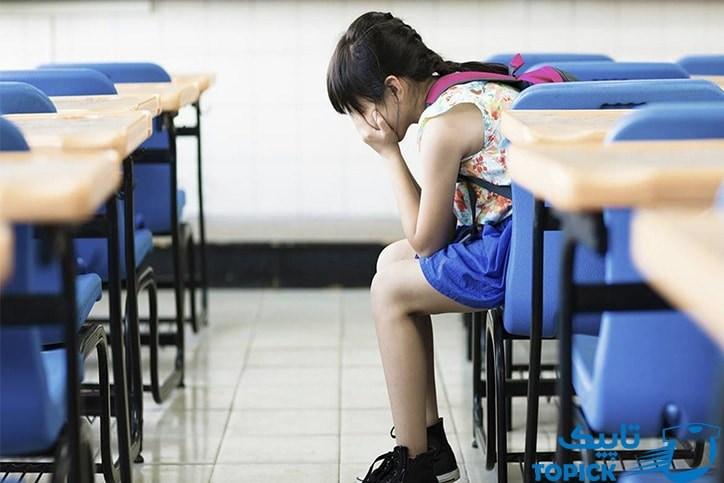 تعریق بیشازحد در دانش آموزان