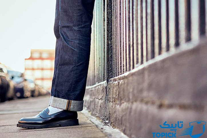 پوشیدن جوراب سفید با کفش مشکی