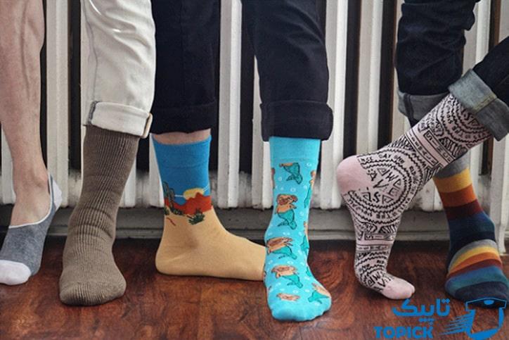 اصول جوراب پوشیدن
