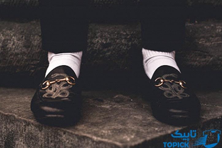 ست کردن جوراب با کفش