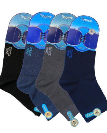 جوراب مردانه نیم ساق نانو 3