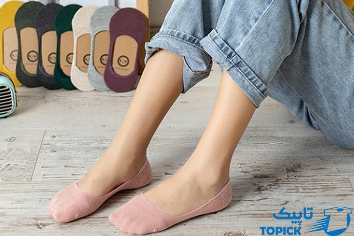 جوراب بدون ساق یا کالج