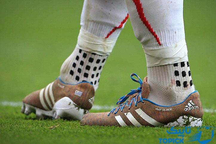 طرز پوشیدن جوراب فوتبال به شیوه فوق حرفهایها 1