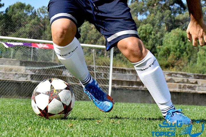 طرز پوشیدن جوراب فوتبال