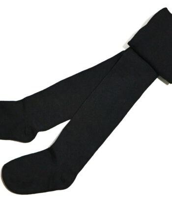جوراب شلواری بچگانه ساده مشکی