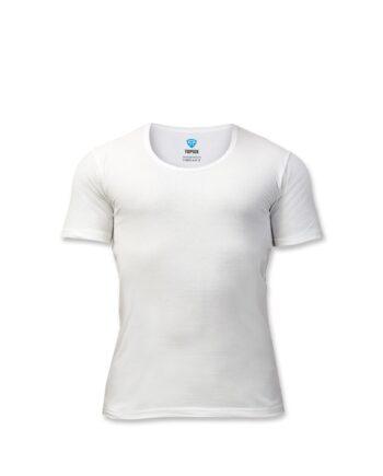 زیرپوش نیمه آستین سفید