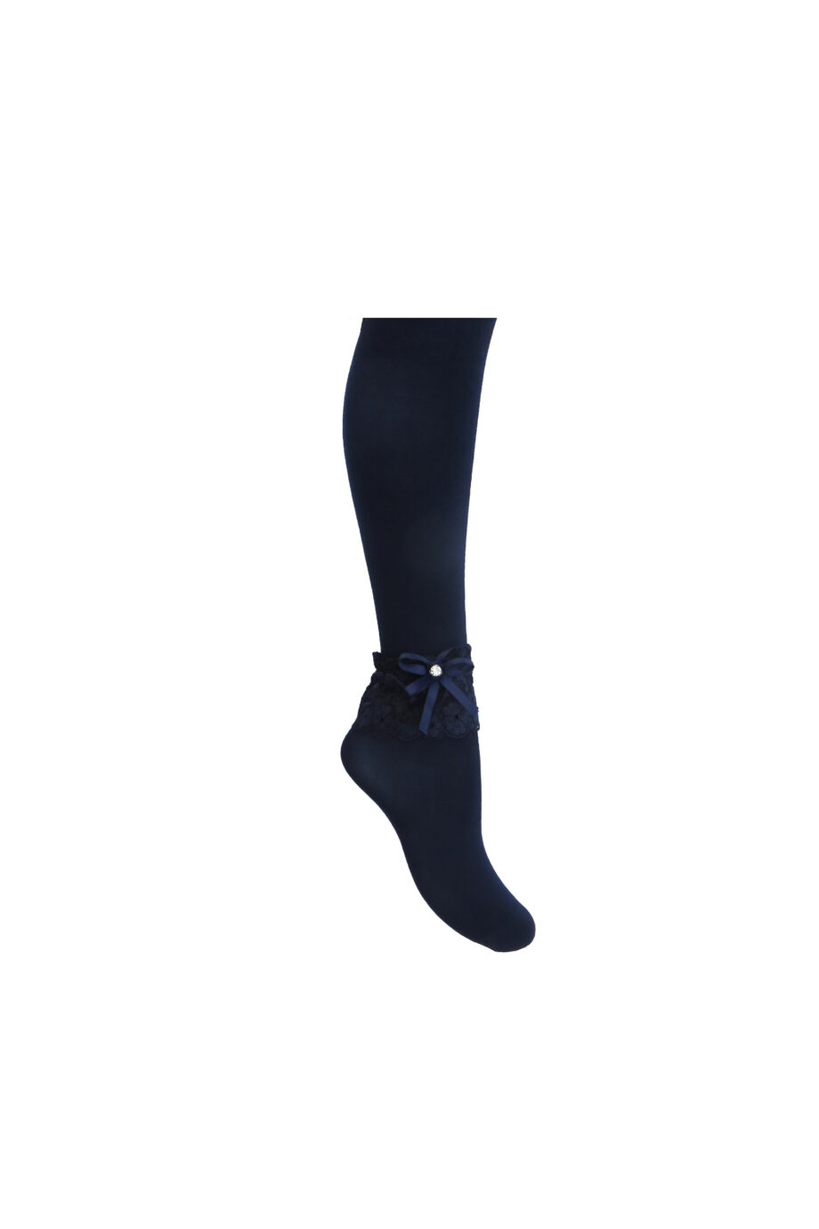 جوراب شلواری بچه گانه لب تور 1